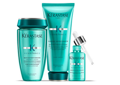 Resistance Extentioniste Hair Care Collection for Damaged Hair